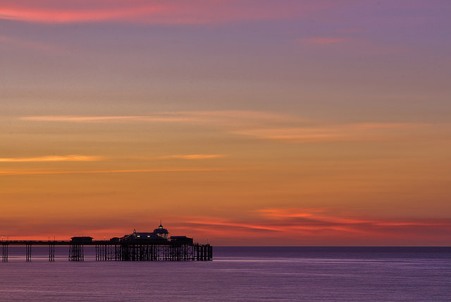 Llandudno at sunset