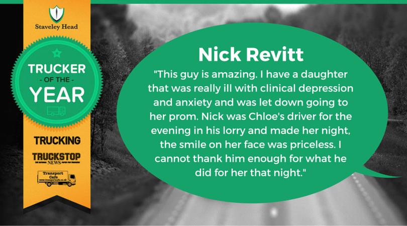 Nick Revitt Facebook Nomination
