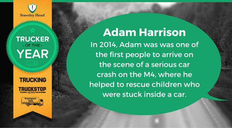 Adam Harrison Facebook Nomination