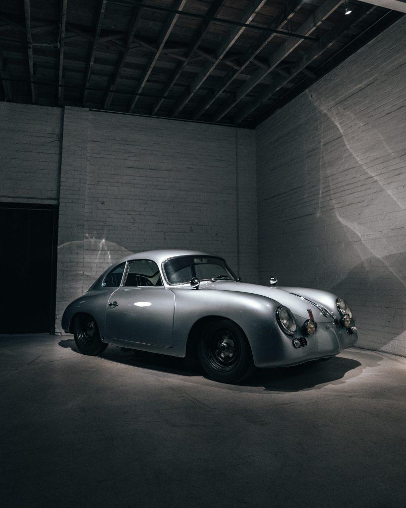 Classic Car In Storage