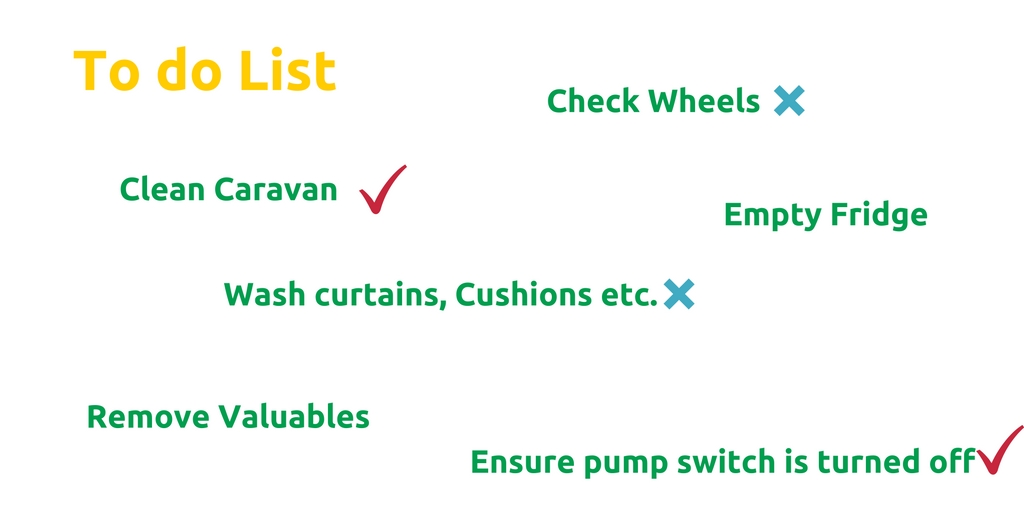 Caravan Winter Preparation To Do List