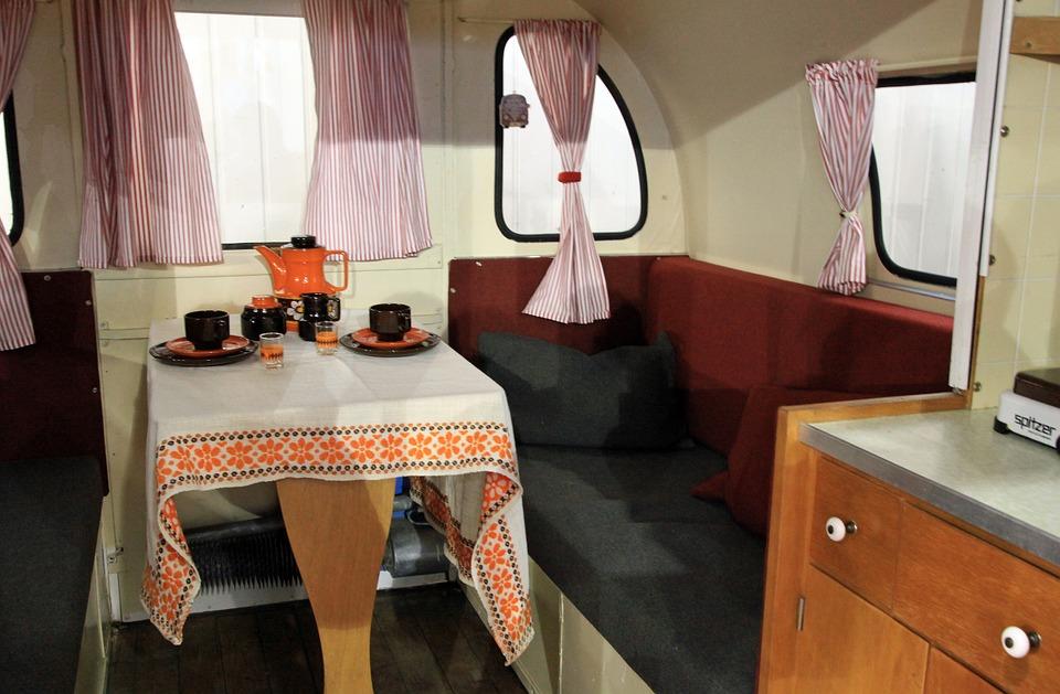 Decorated Caravan
