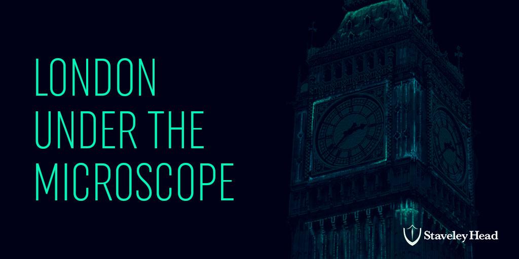 Staveley head London Under the Microscope OG Twitter