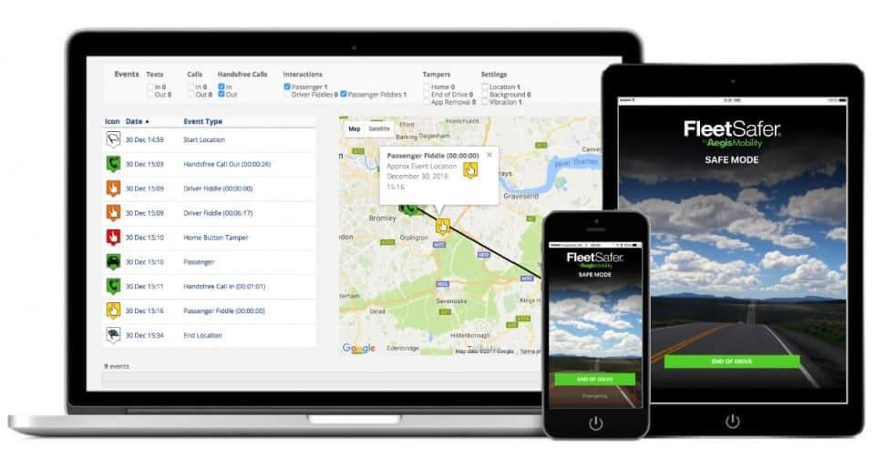 Fleetsafer App for HGV